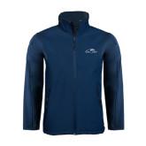 Navy Softshell Jacket-Lancer