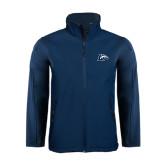 Navy Softshell Jacket-L Horse