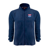 Fleece Full Zip Navy Jacket-US Vice Presidental Debate 2016