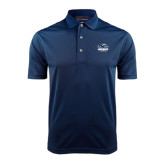 Navy Dry Mesh Polo-Official Logo