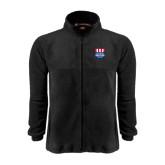 Fleece Full Zip Black Jacket-US Vice Presidental Debate 2016