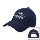 Navy Heavyweight Twill Pro Style Hat-Official Logo