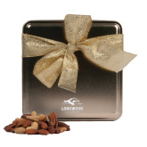 Deluxe Nut Medley Gold Medium Tin-Official Logo Engrave