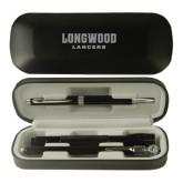 Black Roadster Gift Set-Longwood Lancers Wordmark Engrave