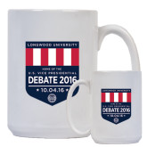 Full Color White Mug 15oz-Home of the U.S. Vice Presidential Debate 2016