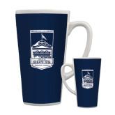 Full Color Latte Mug 17oz-Pediment  - U.S. Vice Presidential Debate 2016