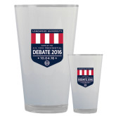 Full Color Glass 17oz-Home of the U.S. Vice Presidential Debate 2016