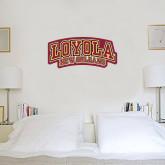 6 in x 1 ft Fan WallSkinz-Loyola New Orleans Arched