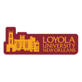 Medium Decal-Loyola University Mark, 8 Inches Long