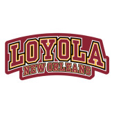 Large Decal-Loyola New Orleans Arched, 12 Inches Long