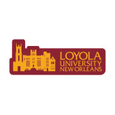 Large Decal-Loyola University Mark, 12 Inches Long
