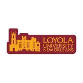 Large Decal-Loyola University Mark, 12 Inches Long