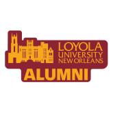 Alumni Decal-Alumni, 6 Inches Long