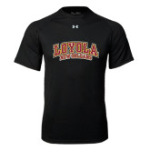 Under Armour Black Tech Tee-Loyola New Orleans Arched
