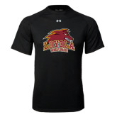 Under Armour Black Tech Tee-Loyola Wolf Pack