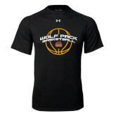 Under Armour Black Tech Tee-Basketball Arched