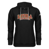 Adidas Climawarm Black Team Issue Hoodie-Loyola New Orleans Arched
