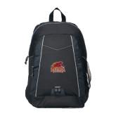 Impulse Black Backpack-Official Logo