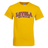 Gold T Shirt-Loyola New Orleans Arched