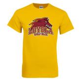Gold T Shirt-Loyola Wolf Pack