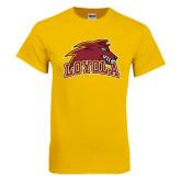 Gold T Shirt-Loyola Wolf