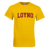Gold T Shirt-LOYNO