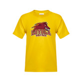 Youth Gold T Shirt-Loyola Wolf Pack