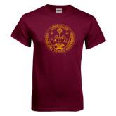 Maroon T Shirt-Loyola Seal