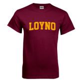 Maroon T Shirt-LOYNO