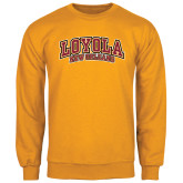 Gold Fleece Crew-Loyola New Orleans Arched