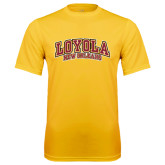 Syntrel Performance Gold Tee-Loyola New Orleans Arched