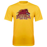 Syntrel Performance Gold Tee-Loyola Wolf Pack