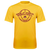 Syntrel Performance Gold Tee-Basketball Arched