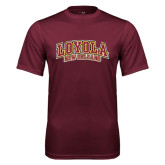 Performance Maroon Tee-Loyola New Orleans Arched