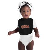 Black Baby Bib-Loyola New Orleans Arched