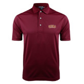 Maroon Dry Mesh Polo-Loyola New Orleans Arched