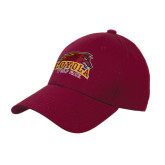 Maroon Heavyweight Twill Pro Style Hat-Loyola Wolf Pack