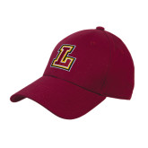 Maroon Heavyweight Twill Pro Style Hat-L