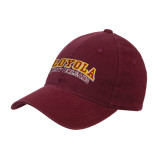 Maroon Flexfit Mid Profile Hat-Loyola New Orleans Arched
