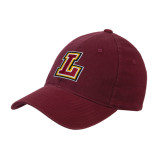 Maroon Flexfit Mid Profile Hat-L