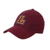 Maroon Flexfit Mid Profile Hat-L