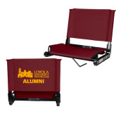 Stadium Chair Maroon-Alumni