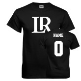 Black T Shirt-Primary Mark, Custom Tee w/ Name and #