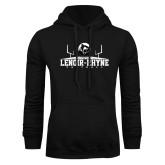 Black Fleece Hoodie-Football Field