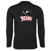 Performance Black Longsleeve Shirt-Bears