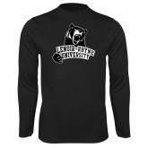 Performance Black Longsleeve Shirt-LR Bear