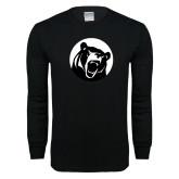 Black Long Sleeve T Shirt-LR Bear