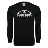 Black Long Sleeve T Shirt-Football Top