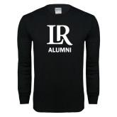 Black Long Sleeve T Shirt-Alumni