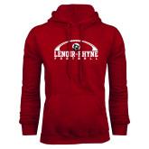 Cardinal Fleece Hoodie-Football Top